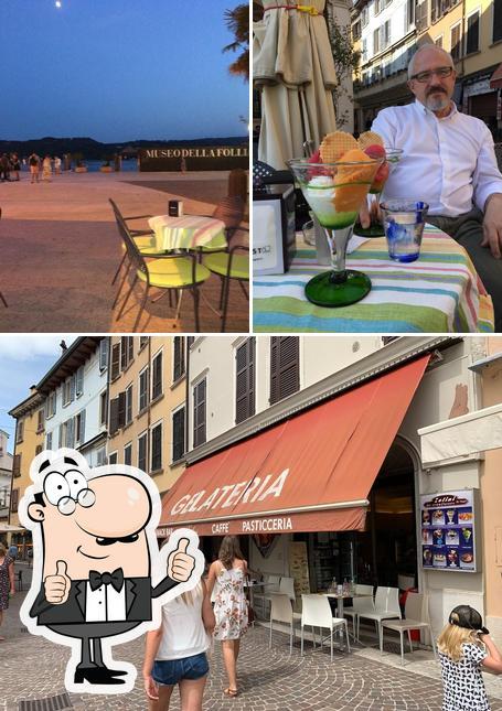"""Это снимок кафе """"Zelini"""""""
