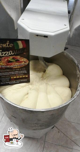 Nourriture à Pronto Pizza Valé