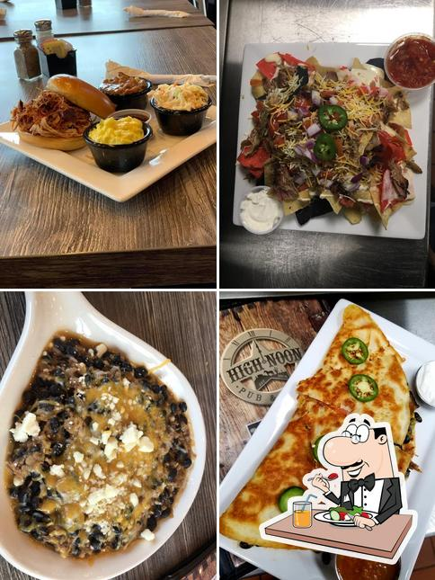 Comida en High Noon Pub & Grill