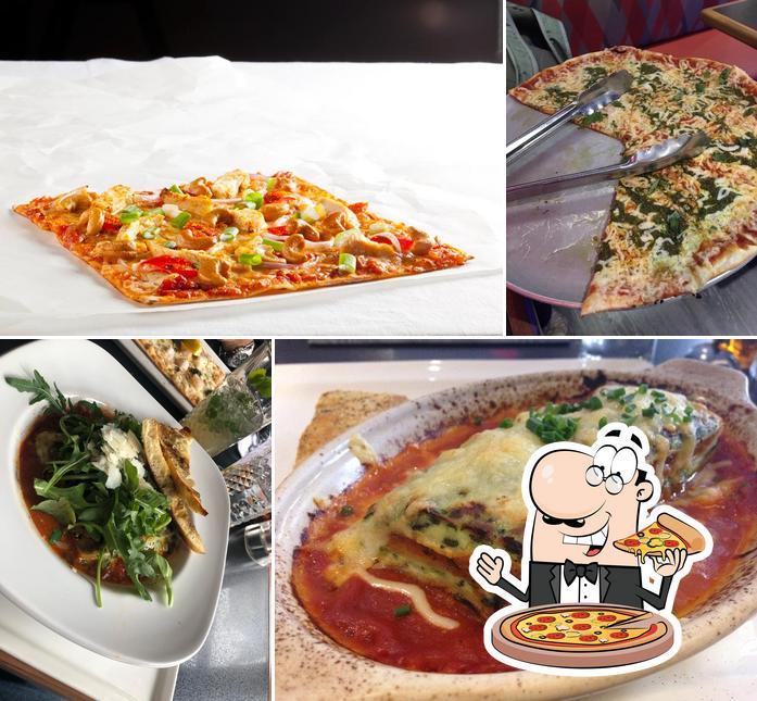 Prenez des pizzas à Restaurant La Piazzetta