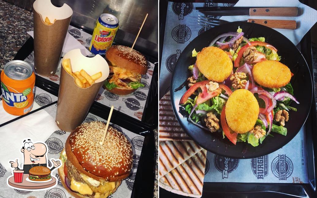 Les hamburgers de L'idéal furiani will satisferont une grande variété de goûts