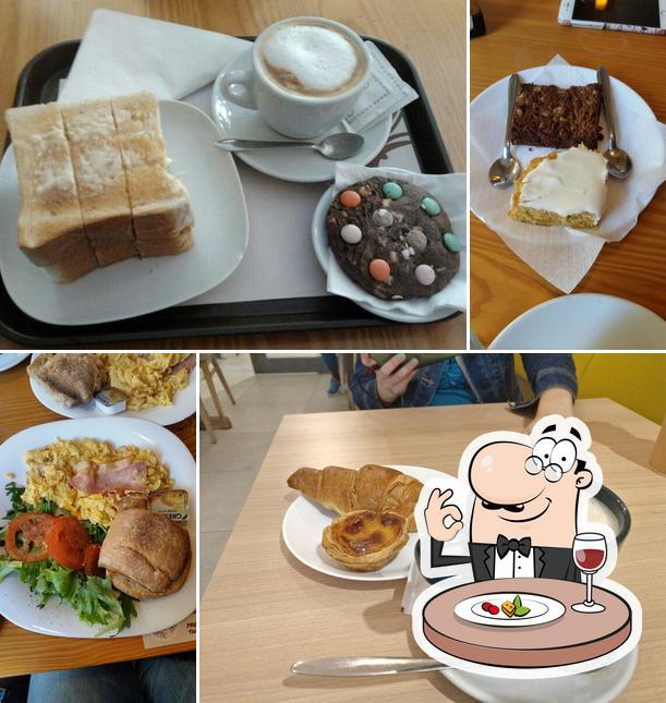 Comida em The Traveller Caffé
