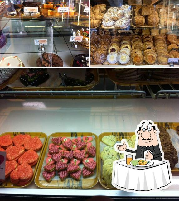Food at Moonside Bakery & Cafe