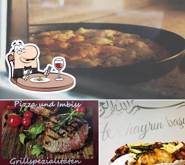 "Еда в ""Napoli Grill"""