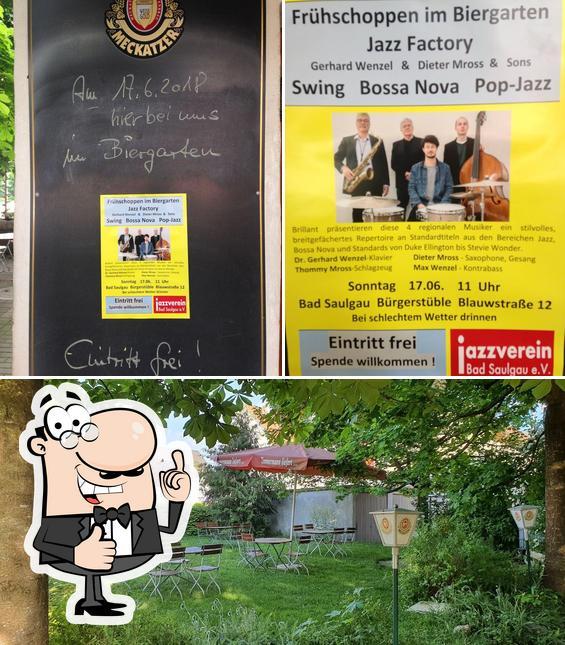 "Взгляните на фотографию ресторана ""Bürgerstüble"""