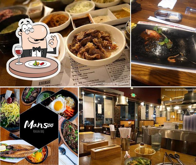 Meals at Man Soo Korean BBQ