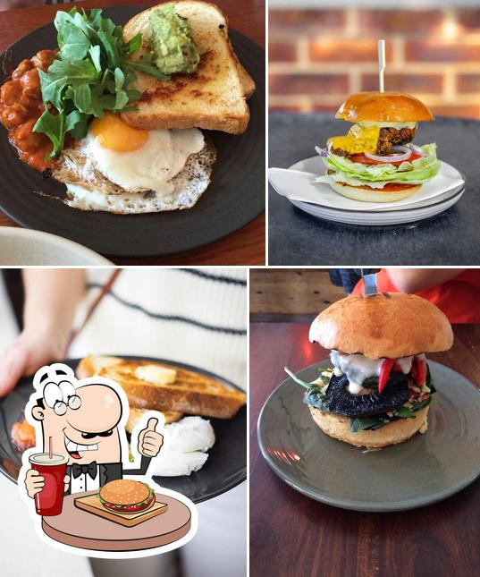Try out a burger at 9 Seeds