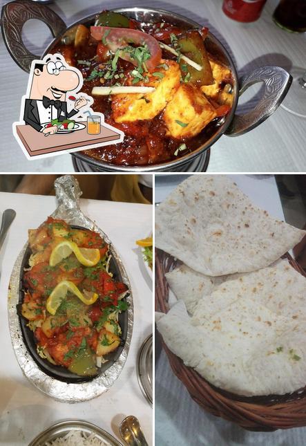 Comida em Italian Indian Palace