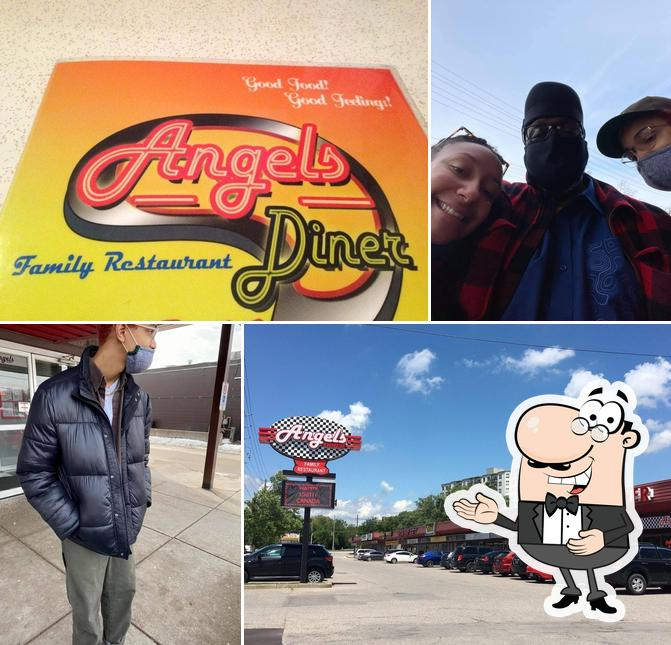 Look at the pic of Angel's Diner