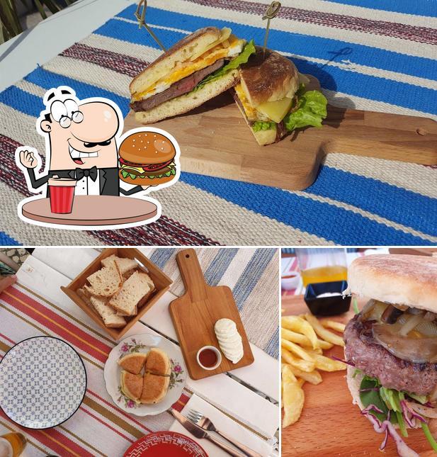 Experimente um hambúrguer no Açores na Feira