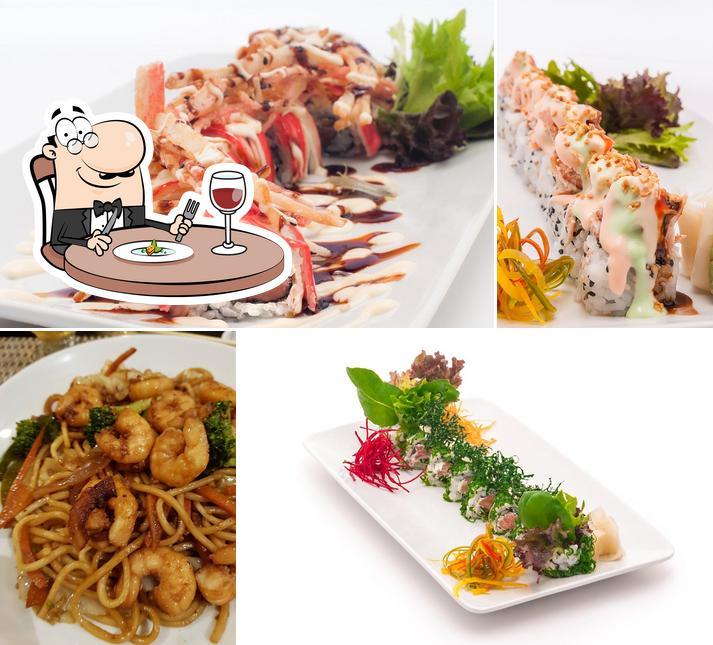 Comida em Master Sushi