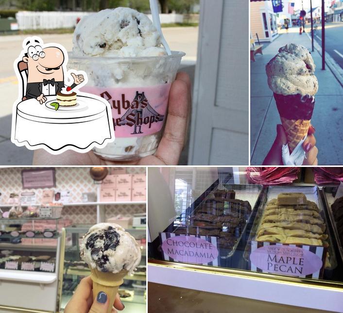Ryba's Fudge offers a range of desserts