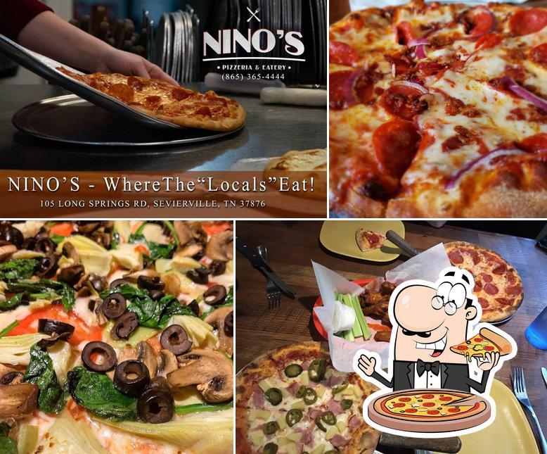 Get pizza at Nino's Pizzeria & Eatery