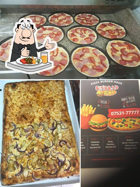 Essen im Lieferservice Sindbad - Pizza Burger Haus