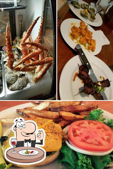Food at The Sandbar and Grille