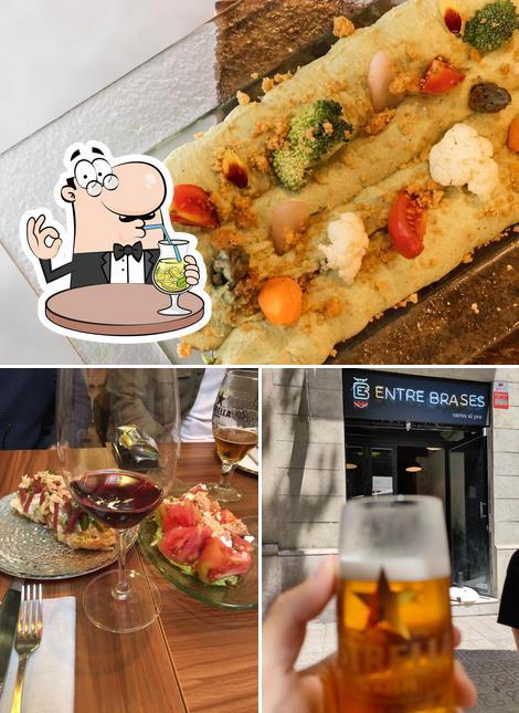 Las fotos de bebida y comida en Entre Brases