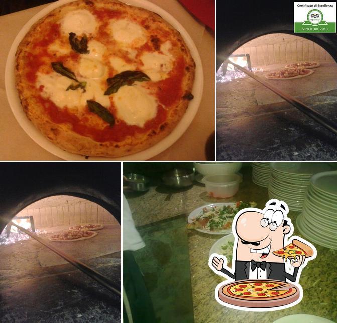 Scegli tra le molte varianti di pizza