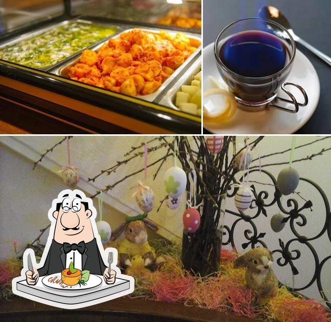 Meals at Bodega Espanola