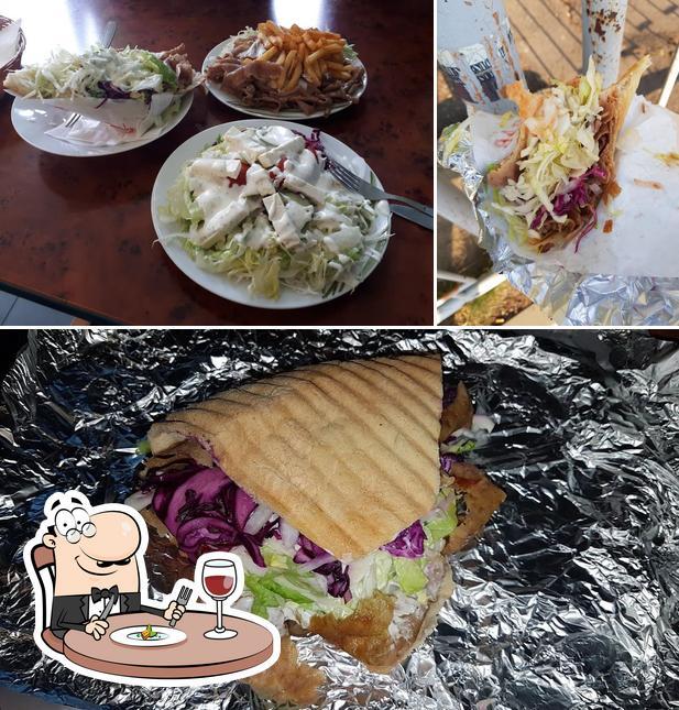 Essen im City Grill