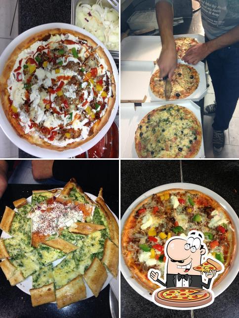 Bestellt eine Pizza bei Stadt Grill Haus