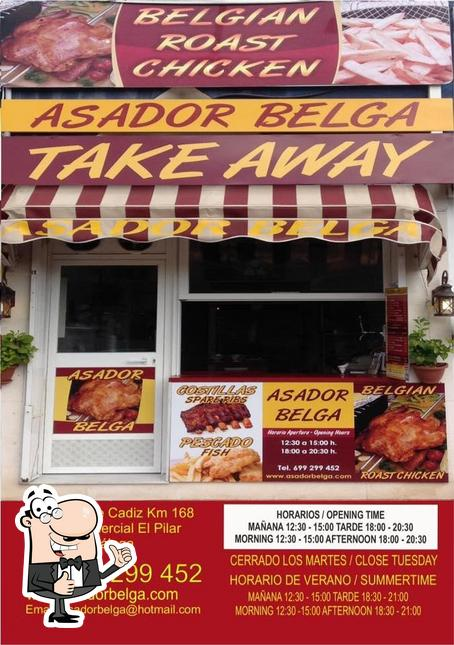 Look at the pic of Asador Belga