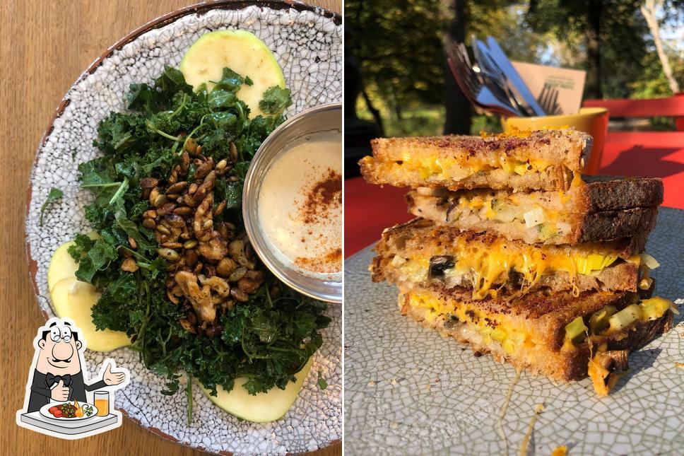 Nourriture à De Melkerij / La Laiterie - Woodpecker's Milkbar