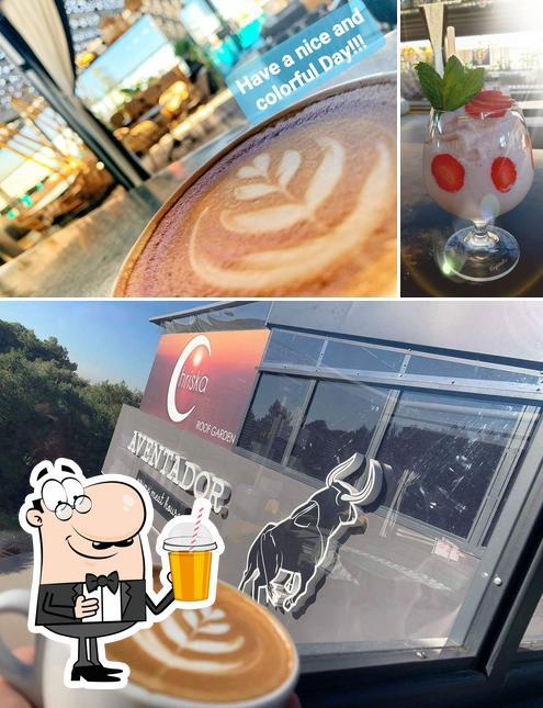 Enjoy a drink at Chriska Roof Garden