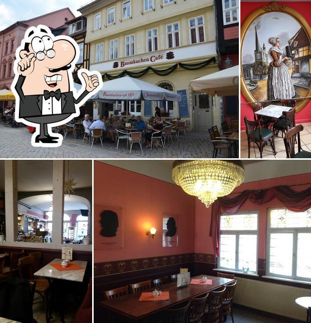 L'intérieur de Baumkuchen Cafe