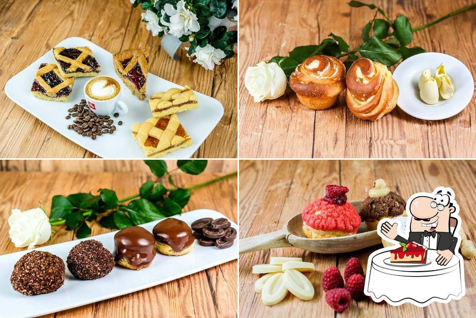 Закажите один из десертов в Pasticceria Serraia