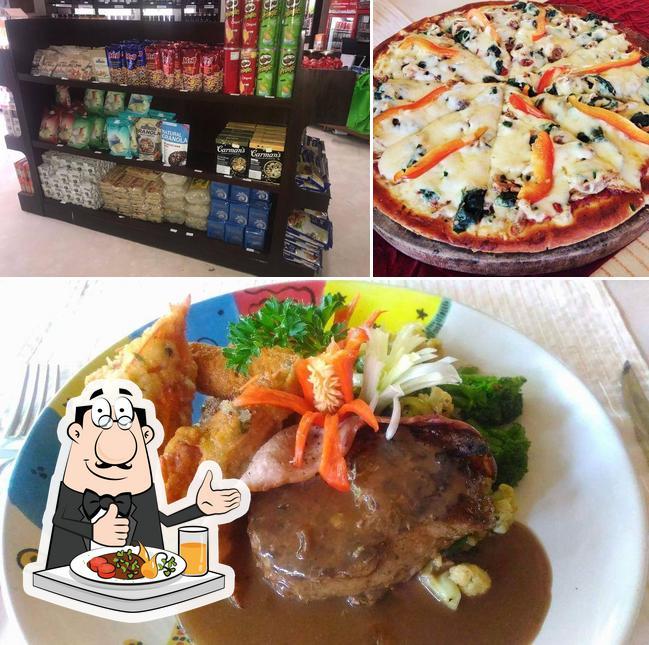 Food at Dining Room