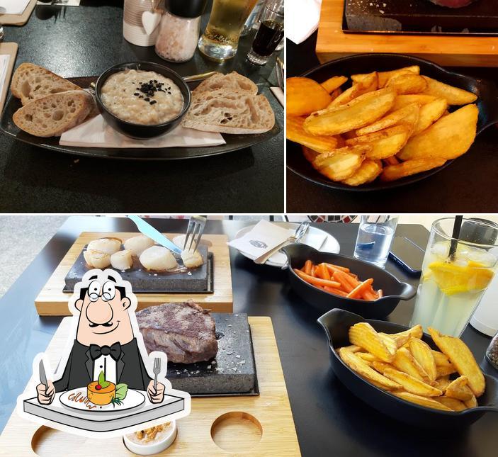Food at Marha Jó Steak Bar