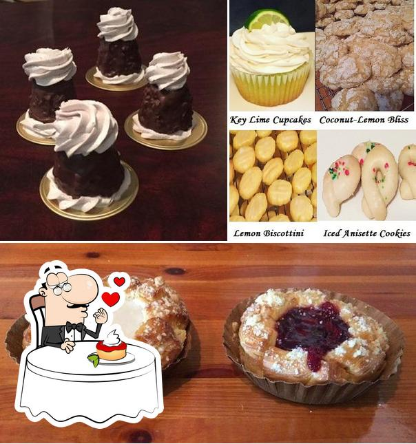 Annabelle's Cookies and More provides a selection of desserts