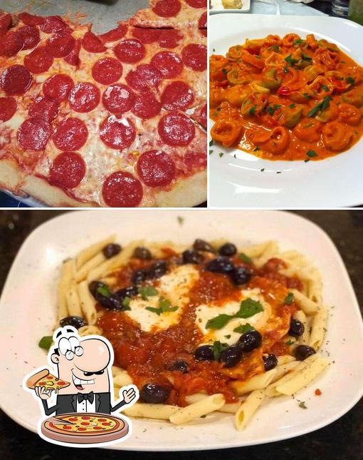 Get pizza at Sal's italian restaurant