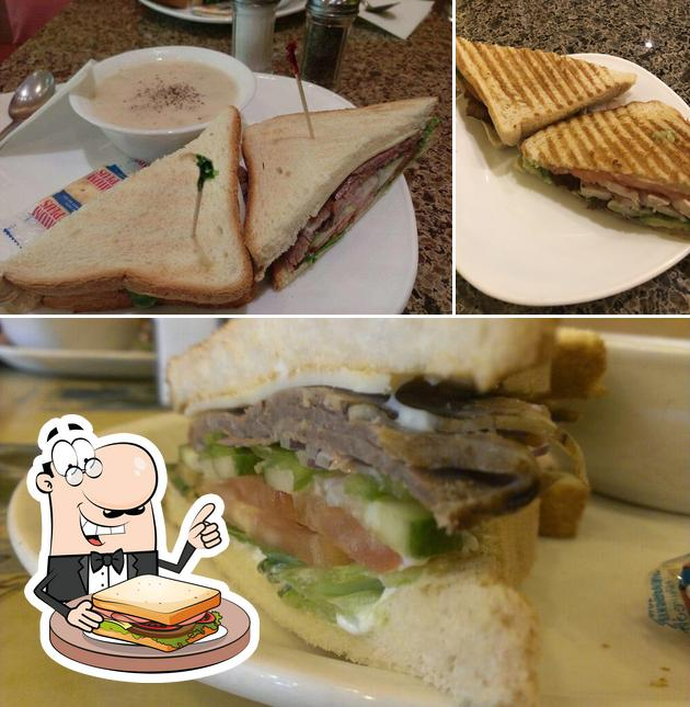 Grab a sandwich at Only U Cafe