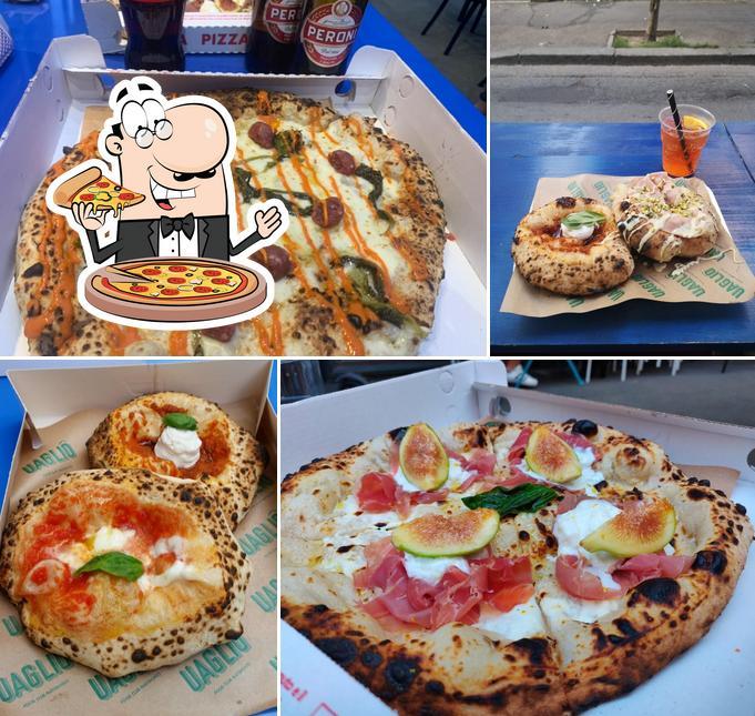 Ordina una pizza a Uagliò