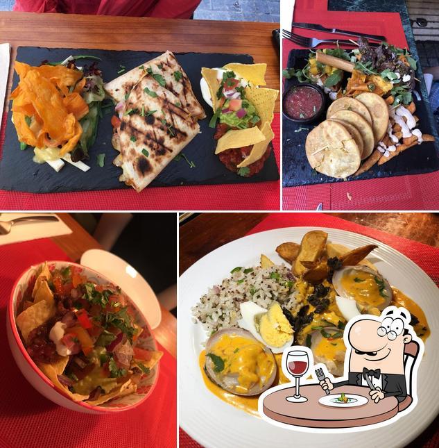 Food at Andino