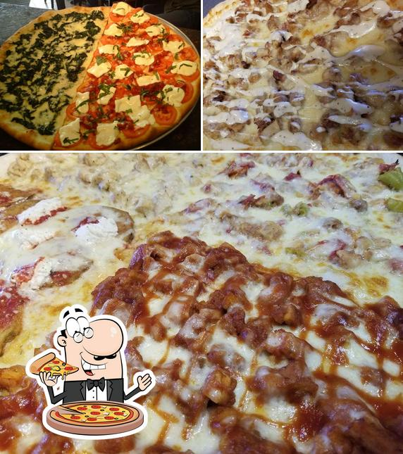 Pide diferentes tipos de pizza