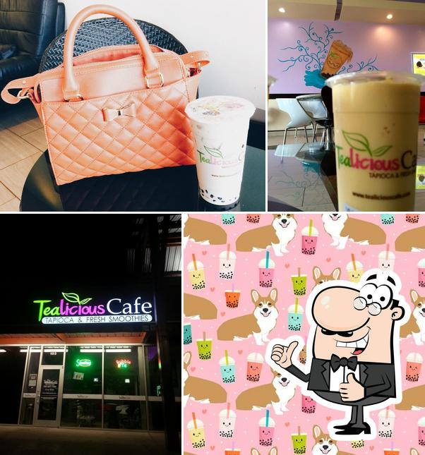 Here's a photo of TeaLicious Cafe