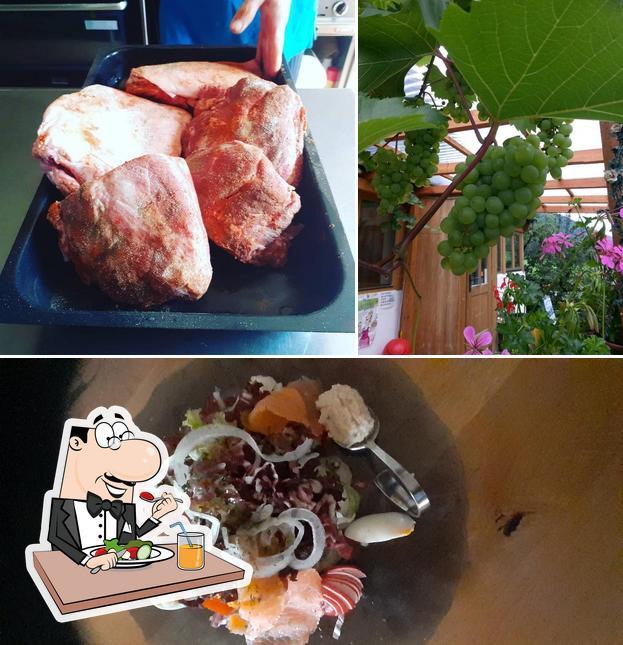 Gerichte im Berggasthaus Kraxenberger