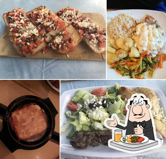 Food at Cafe Greek Garden