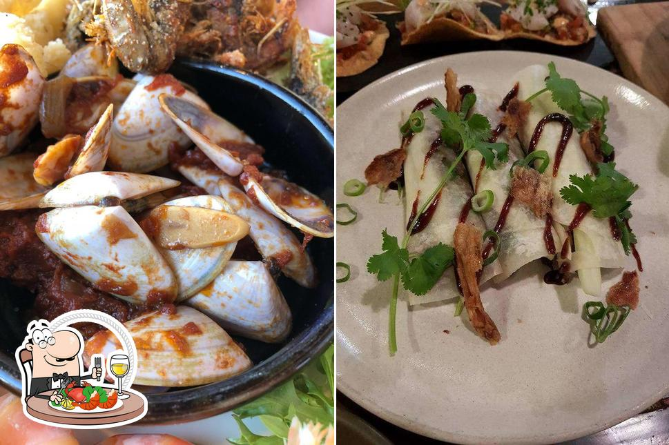 Try out seafood at The Anchorage Hotel