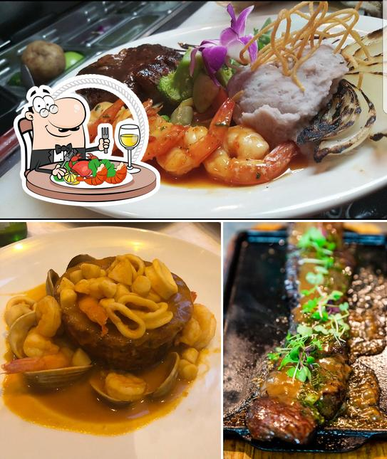 Try out seafood at mamajuana cafe The Bronx