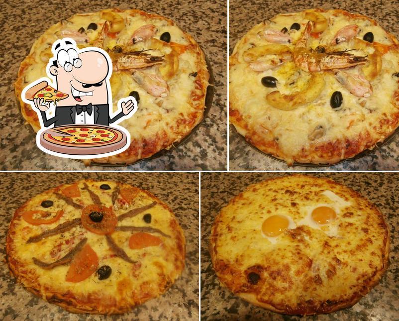 Essayez des pizzas à l'Atelier de la Pizza