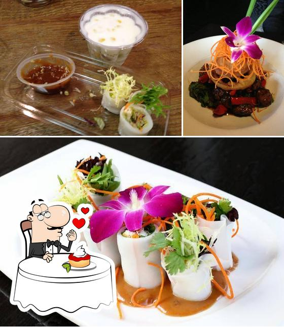 Osha Thai Noodle Cafe offers a selection of desserts