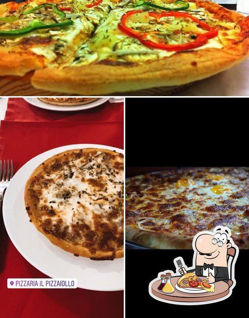 Escolha pizza no PIZZARIA IL PIZZAIOLLO
