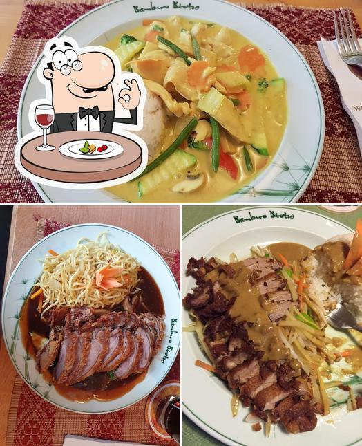 """Еда в """"Bambus Bistro"""""""