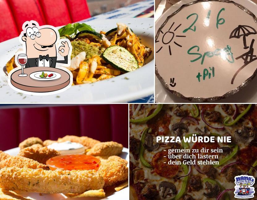 "Блюда в ""Mama's Pizza-Place"""