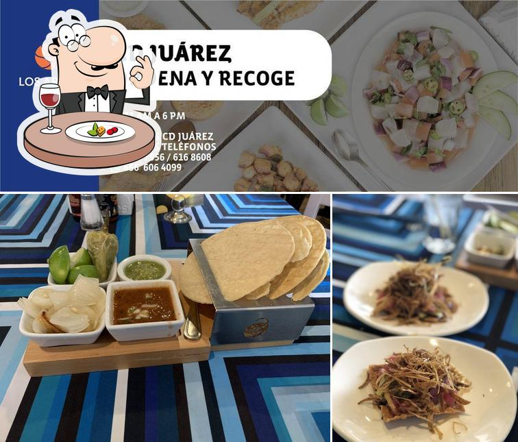 Food at Los Arcos