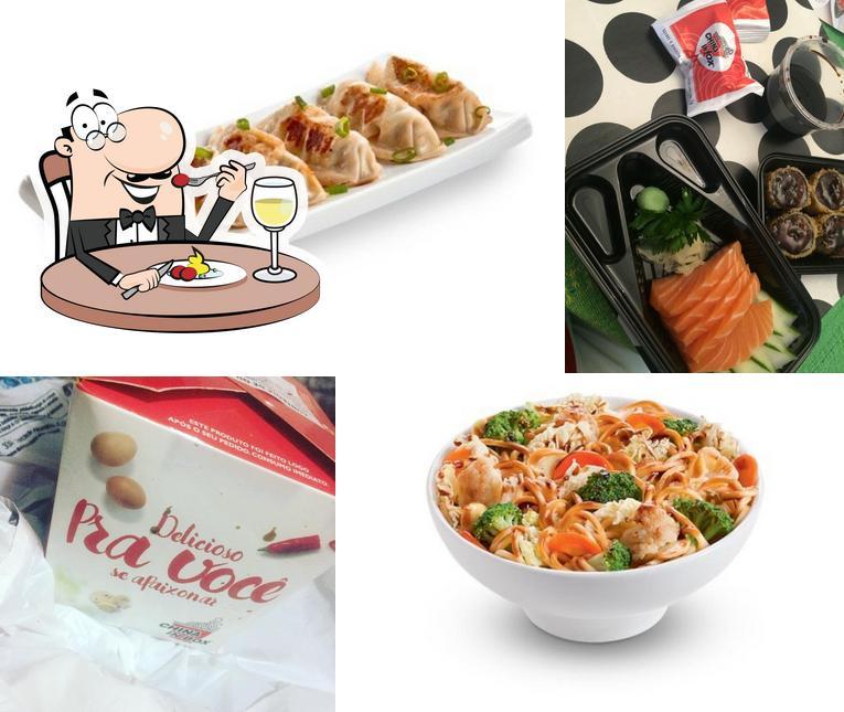 Comida em China in Box