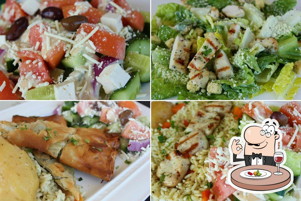 Food at Olive Tree